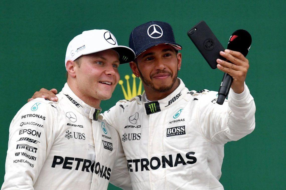 GP de Silverstone: Hamilton ganó en su casa y le pone presión a Vettel
