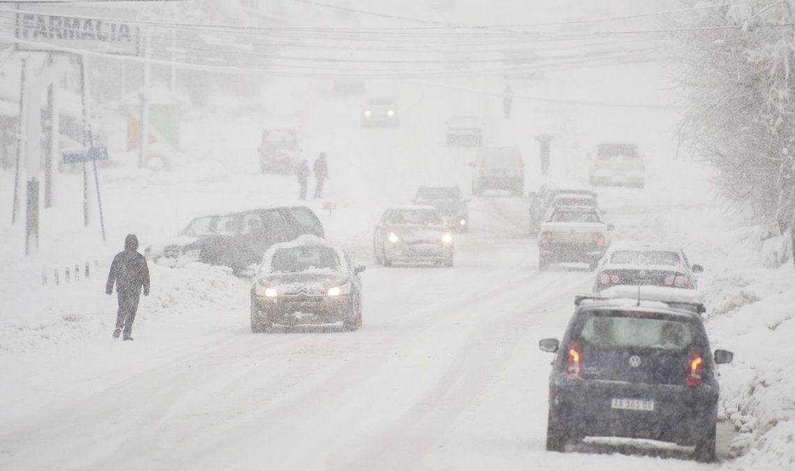 Más de la mitad del país arrancó el domingo bajo cero