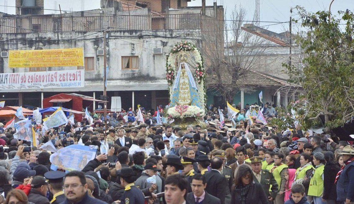 Más de 200 mil fieles reunió la fiesta de la Virgen de Itatí