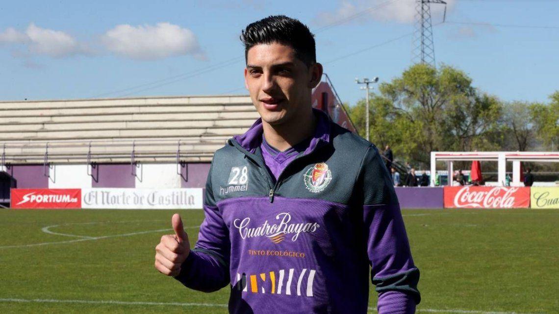 Espinoza: Llegar a Boca es la oportunidad más grande mi carrera