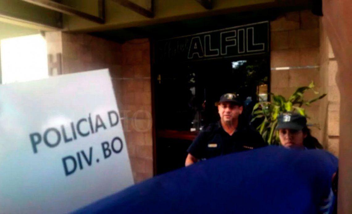 Horror en un hotel de Chaco: un policía y una menor, muertos a tiros