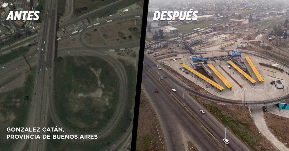 Así es el primer Centro de Trasbordo del Conurbano que inauguró Macri