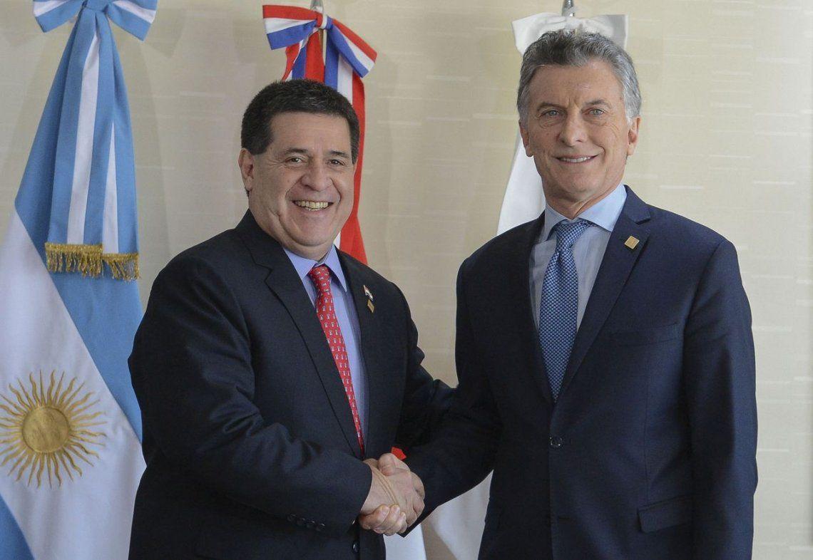 Macri le traspasó a Temer la presidencia pro tempore del Mercosur