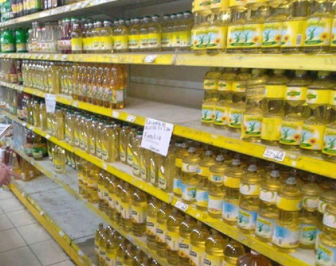 Precio del aceite comestible  aumentó más del 200%