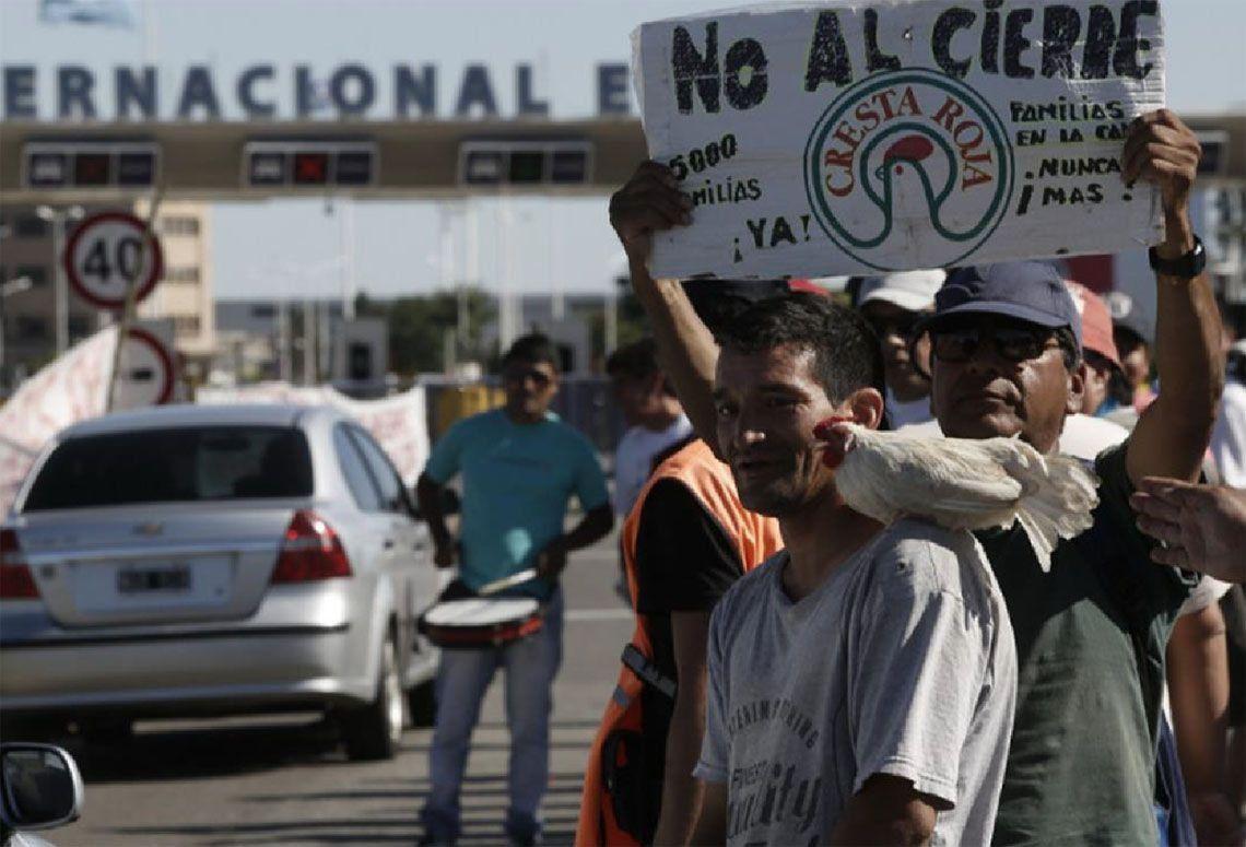 Cresta Roja: trabajadores denuncian represión