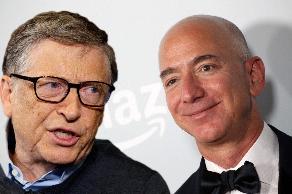Jeff Bezos desplazó a Bill Gates como el hombre más rico del mundo