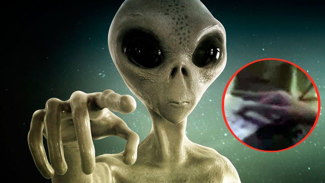 ¿Un ET a bordo de un avión de la NASA?