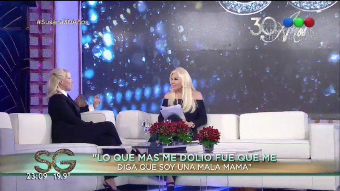 Susana Giménez, imputada por una guerra sin fin con Maradona