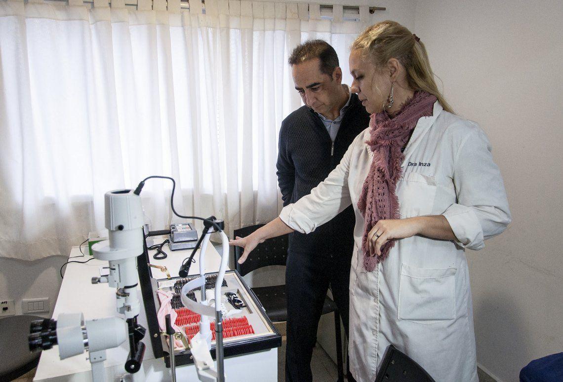 Amplían servicio de oftalmología en Centros de Salud de Morón