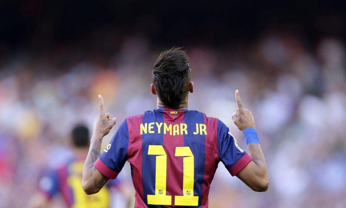 Los hinchas de Barcelona, enfurecidos con Neymar