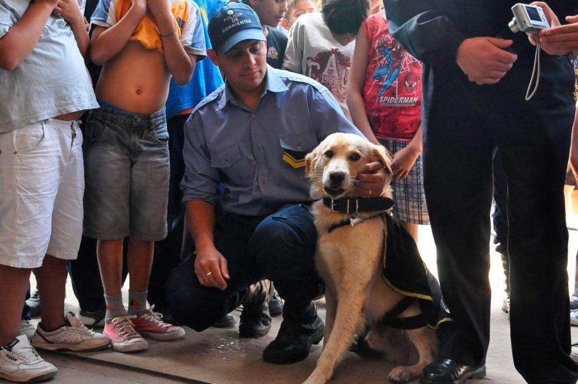 Un policía prohibió el ingreso de perros a las comisarías: lo echaron a él