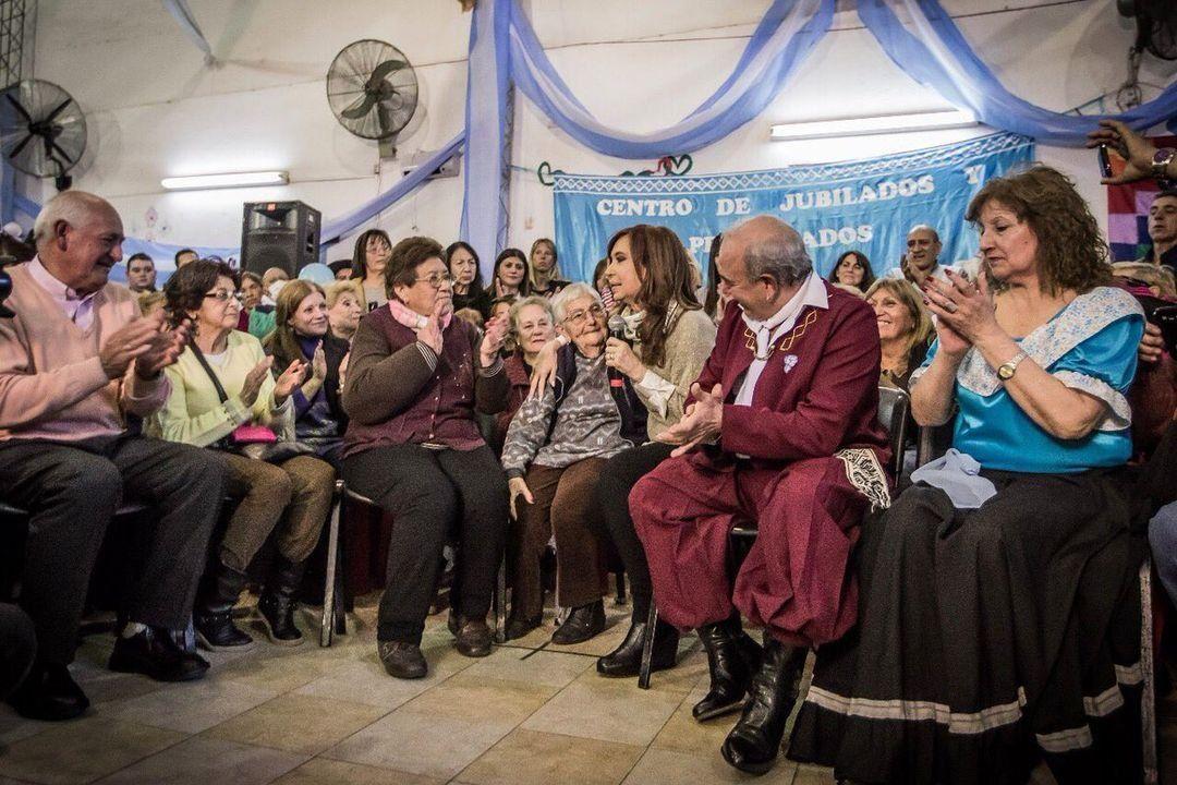 Foto @CFKArgentina