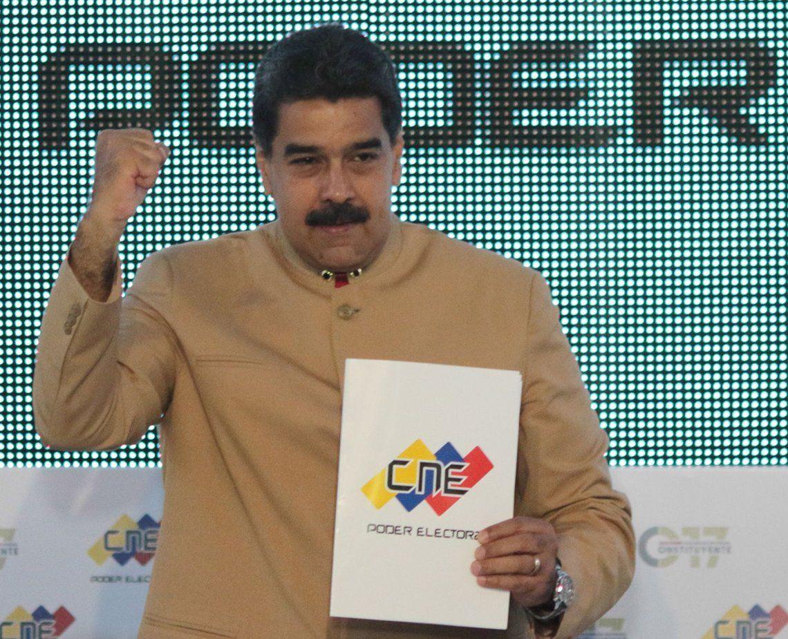 Maduro buscará la reelección en 2018