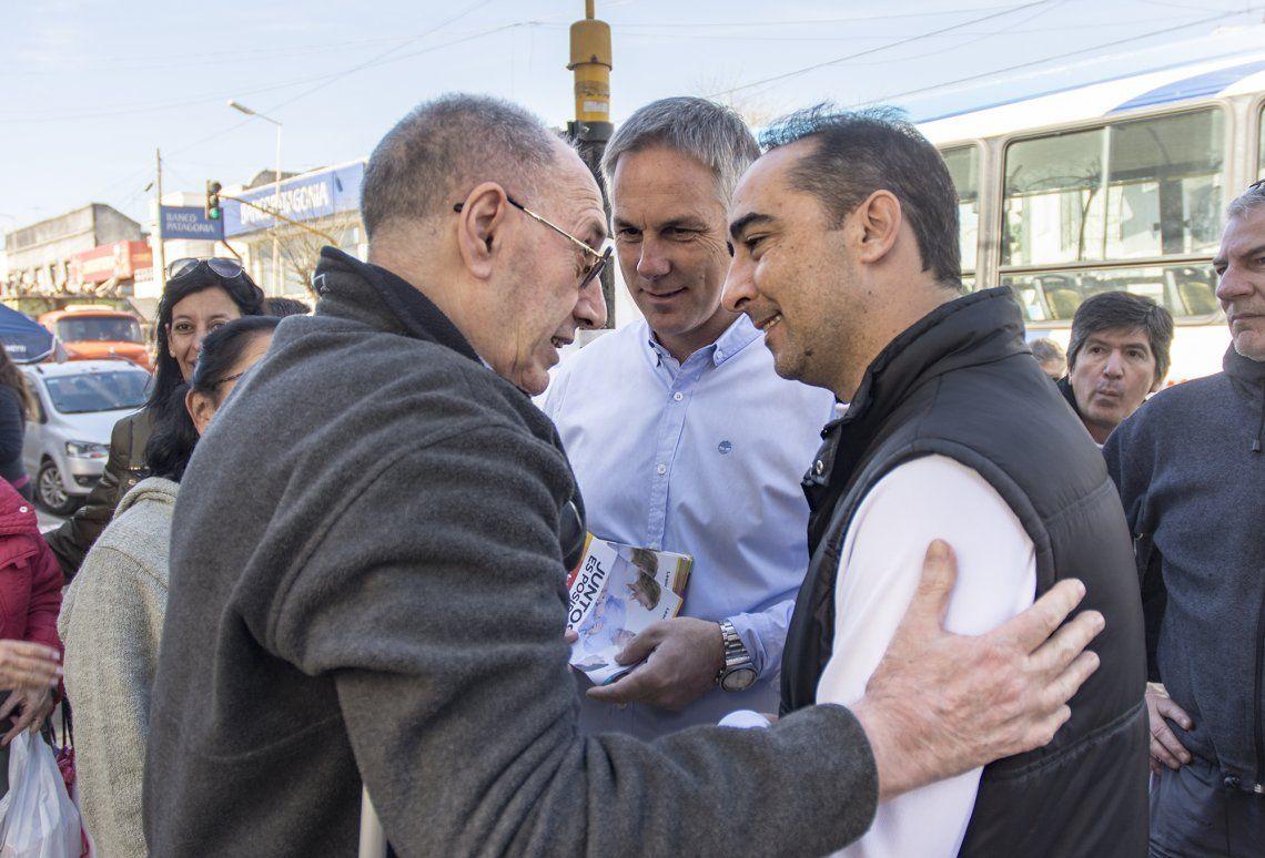 A una semana de las PASO, Tagliaferro recorrió barrios de Morón