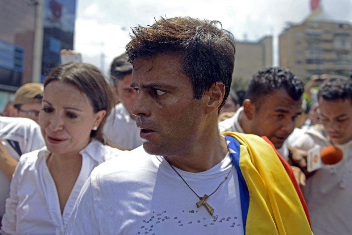 Leopoldo López fue devuelto al arresto domiciliario