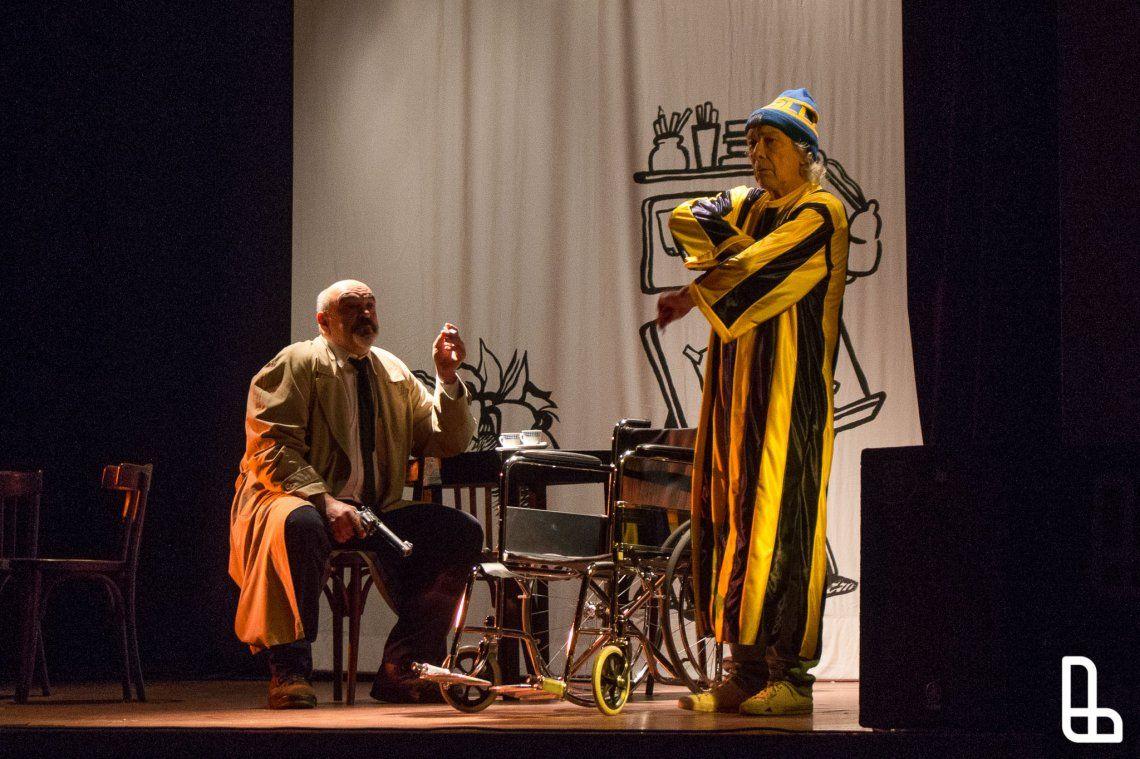 Se presentó la obra Negro y Rosa, en homenaje a Fontanarrosa