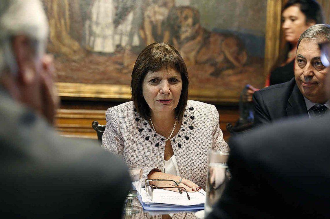 Patricia Bullrich, citada al Congreso por la desaparición de Maldonado en Chubut