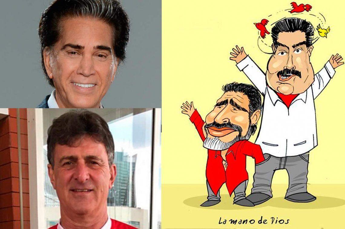Más réplicas a Maradona tras declararse soldado de Maduro
