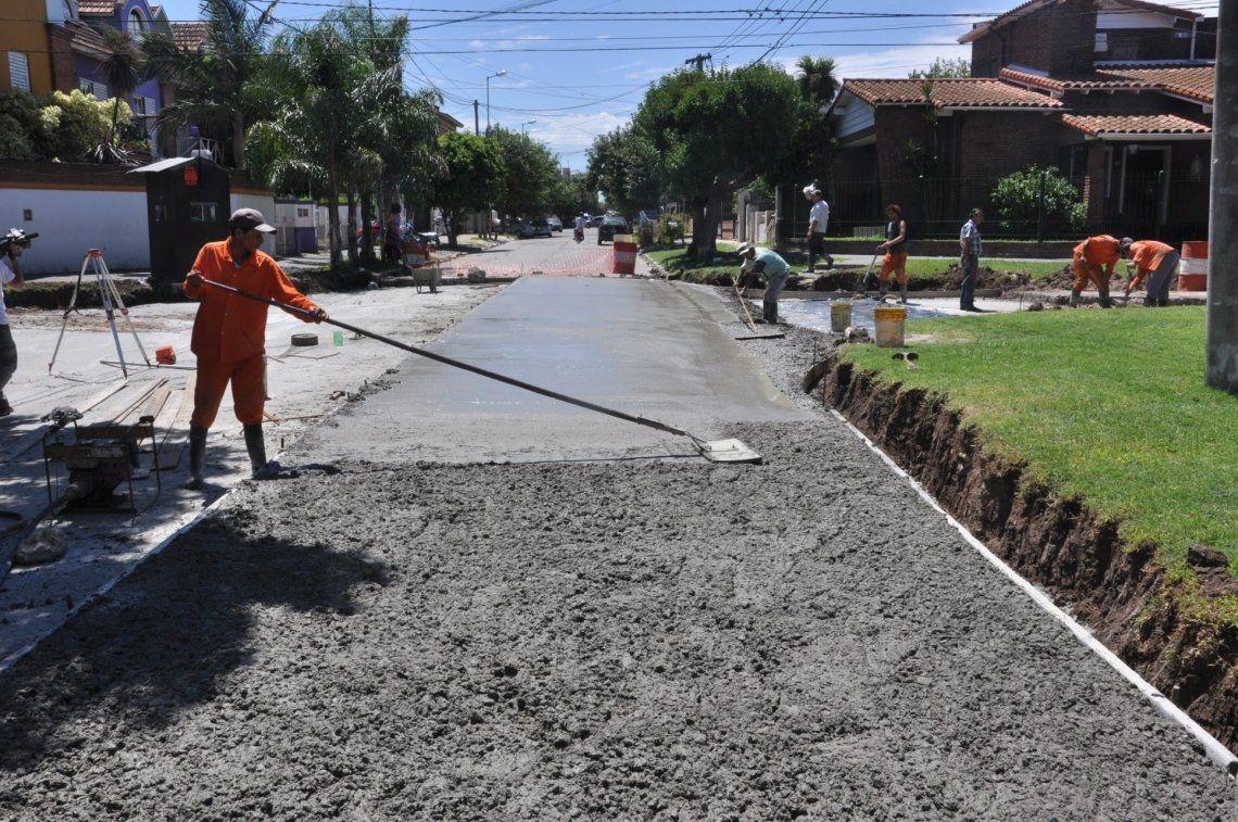 Avanza el plan para terminar con las calles de tierra en Morón