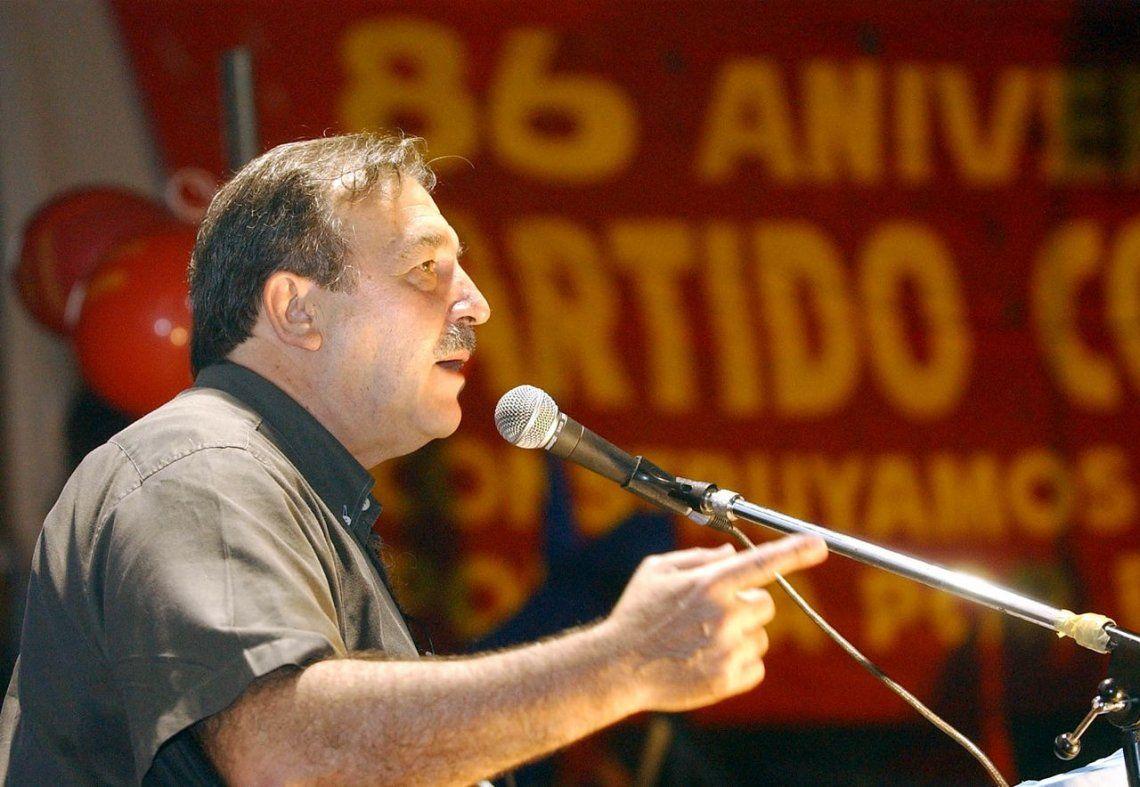 Murió Patricio Echegaray, secretario general del Partido Comunista