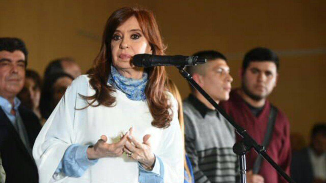 Cristina: El voto del domingo debe hacerle entender al Gobierno que así no se puede seguir