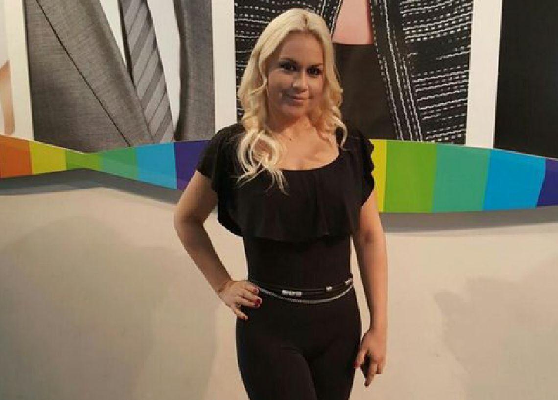 Verónica Ojeda desmintió estar embarazada de Diego Maradona