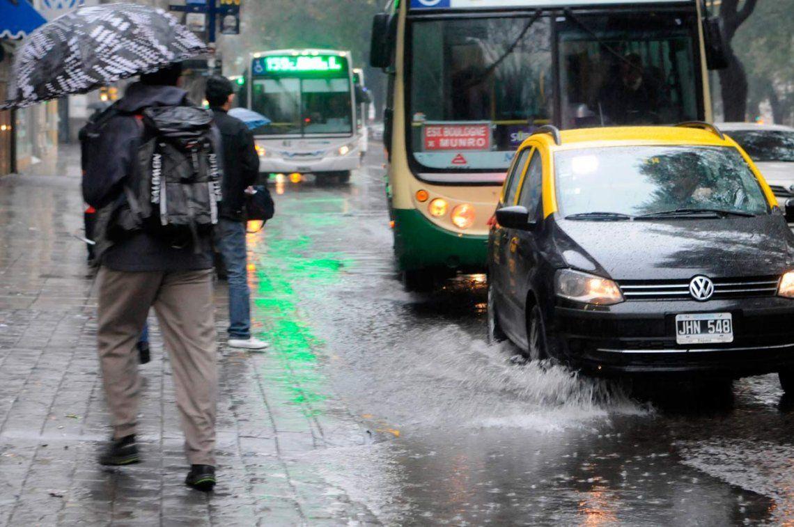 Alerta por tormentas fuertes en Buenos Aires y otras ocho provincias