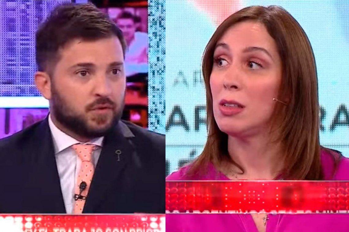 Video | El picantísimo cruce entre Vidal y Brancatelli