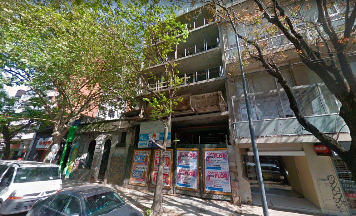 Palermo: entraron a robar a un edificio y el sereno se tiró desde el 5° piso