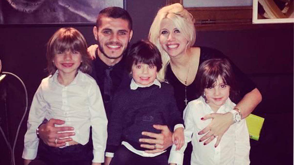 La felicidad de Mauro Icardi y su familia por la convocatoria a la Selección