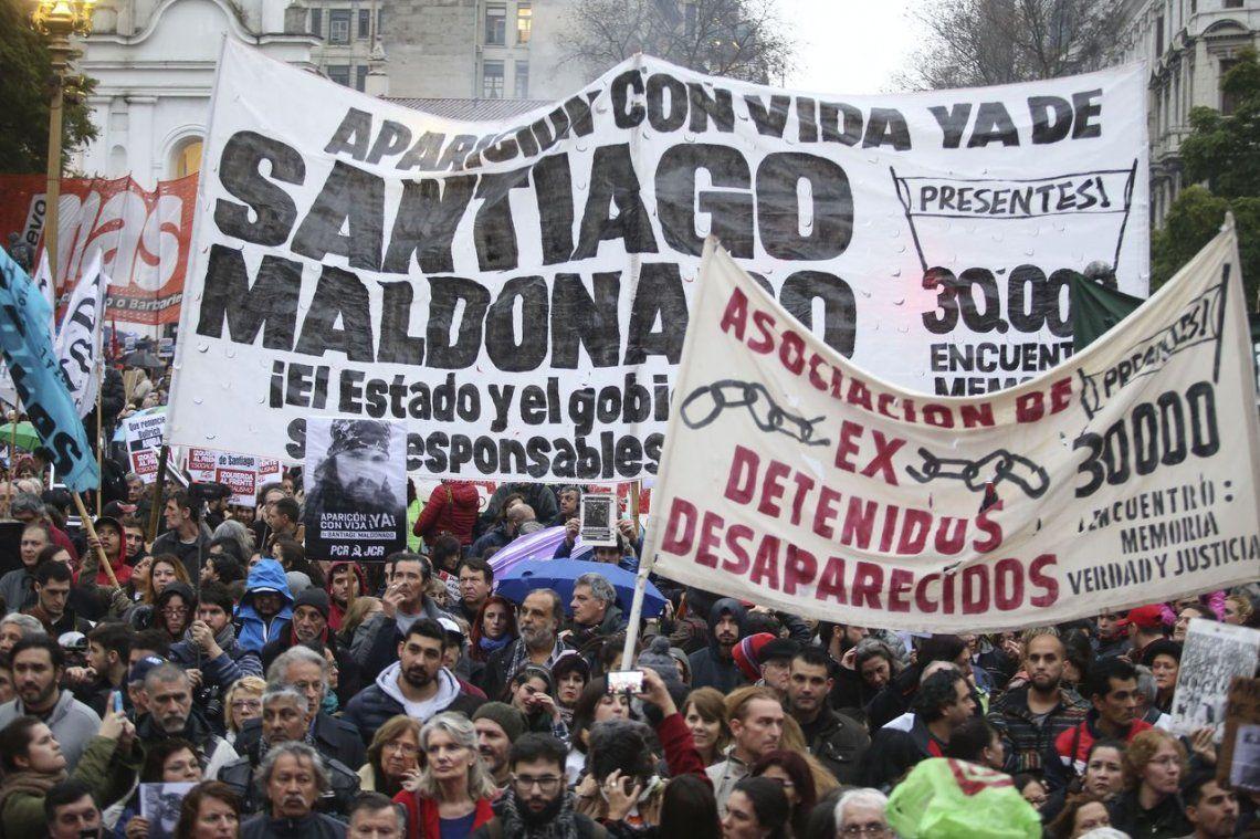 Plaza de Mayo, colmada, se fundió en un grito: Aparición con vida de Santiago Maldonado