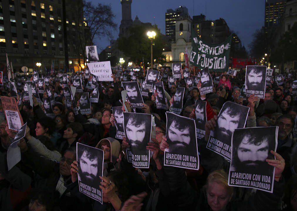 La desaparición de  Maldonado, un tema complejo que incomoda al gobierno