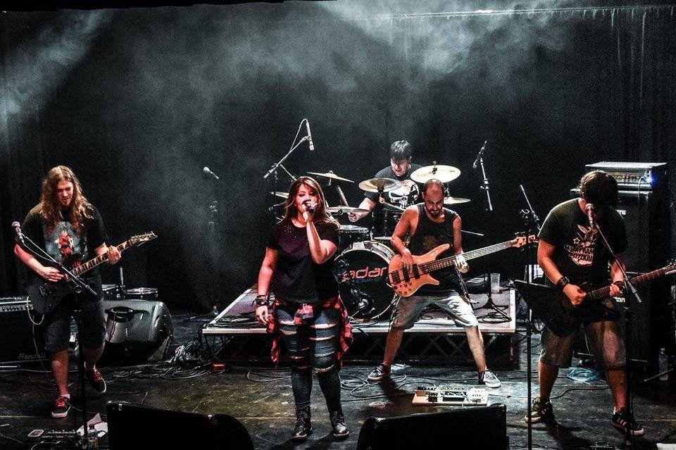Aliwen se sube al escenario de Zadar Club antes de grabar su nuevo EP