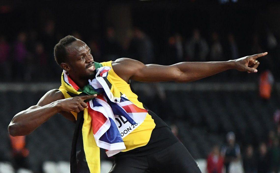 Bolt, antes de la lesión: Estar al mismo nivel que Bob Marley es magnífico
