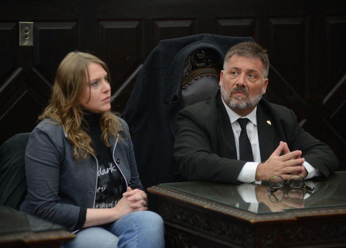 Otorgan arresto domiciliario a Estefanía Heit por estar embarazada de siete meses