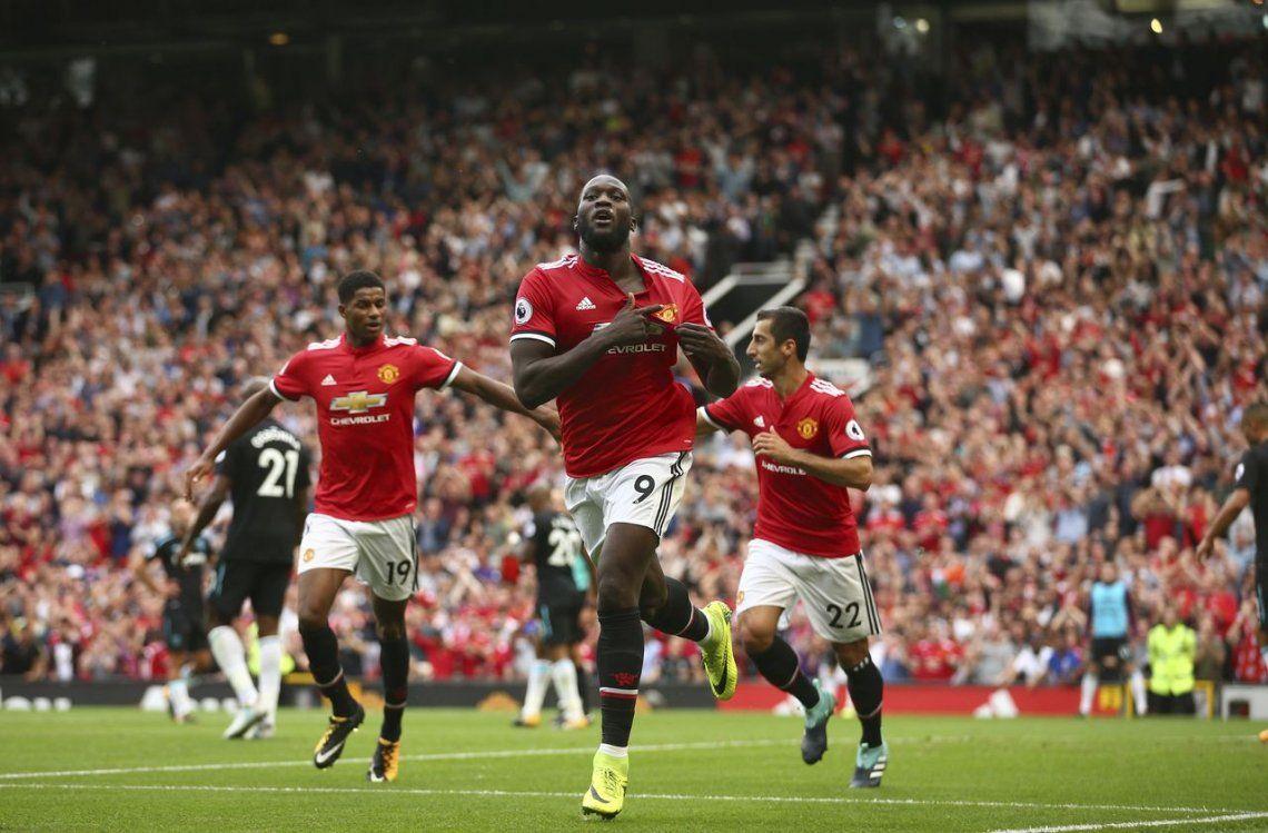 Manchester United debutó con goleada ante West Ham