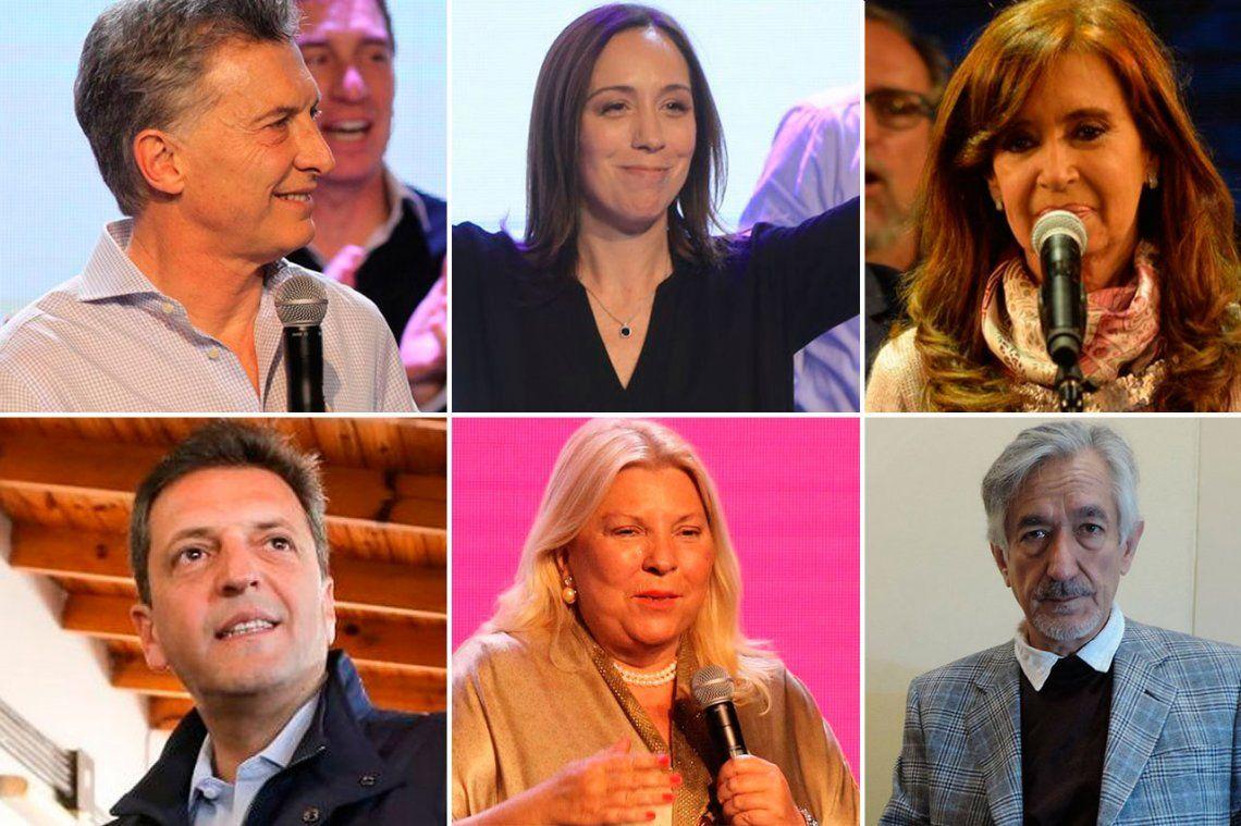 Los ganadores y perdedores de las PASO 2017
