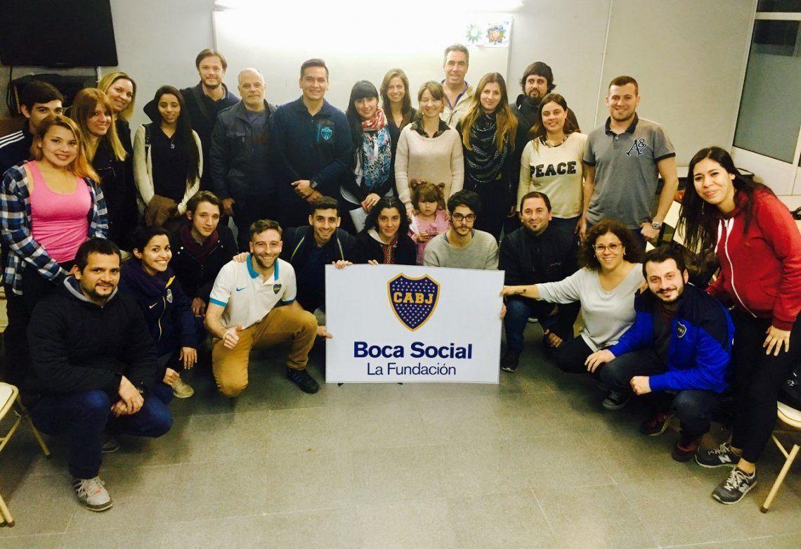 Una hora para tu club, la nueva ayuda de Boca Social