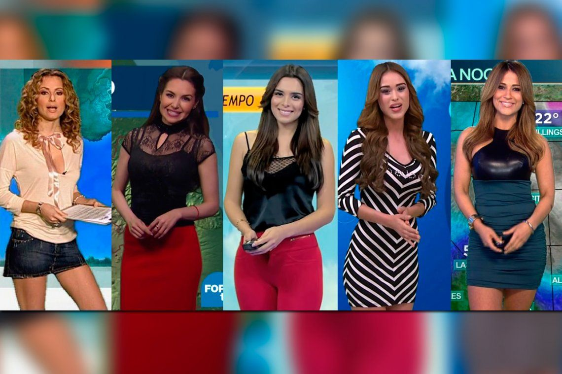 Estas son las 5 chicas del clima más sexies del mundo