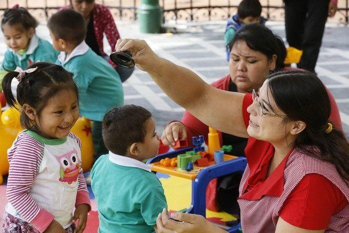 Un espacio para los primeros pasos de los niños en el barrio
