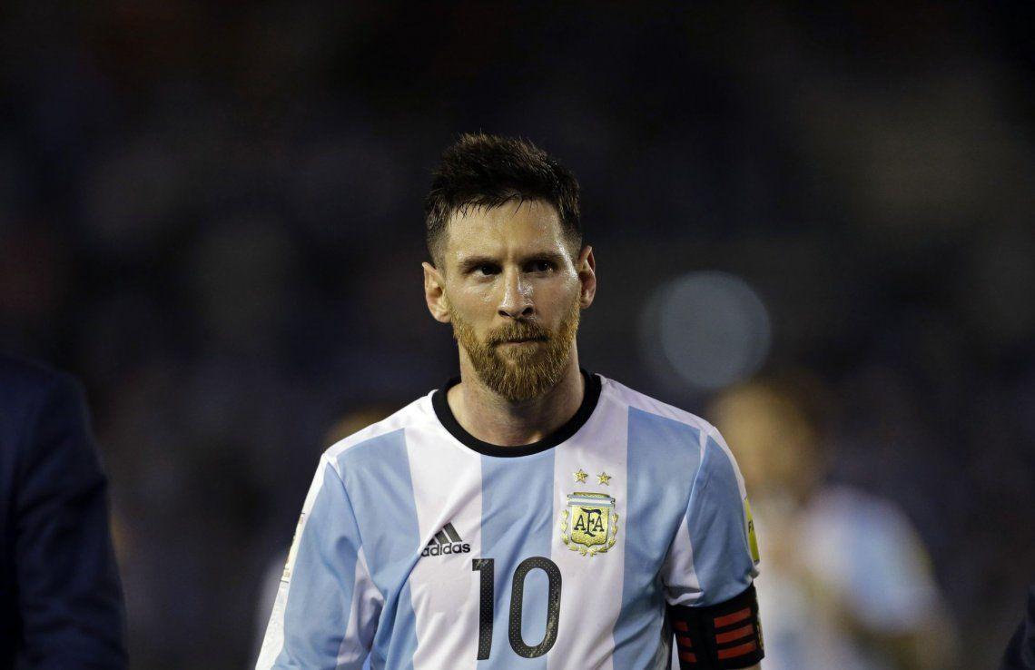 Messi: Hacer un buen Mundial sería estar entre los cuatro mejores
