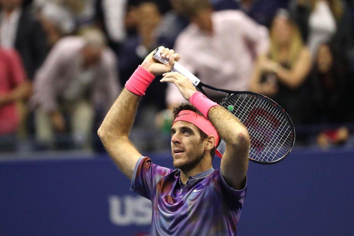 A qué hora juega Del Potro en el US Open y cómo quedará en el ránking