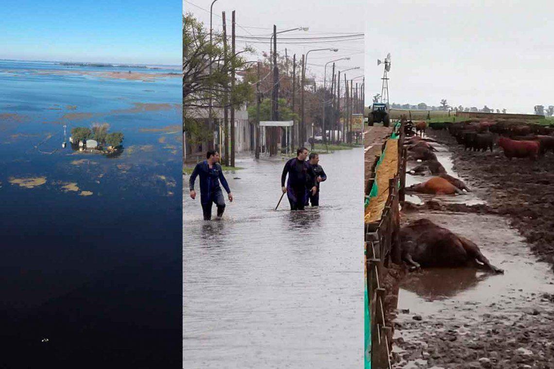 El drama de las inundaciones: 6 fotos de la Argentina que duele