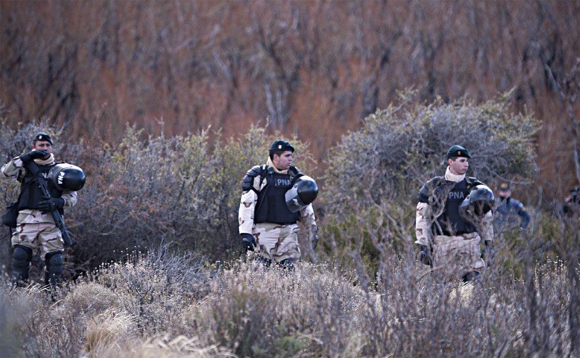 Maldonado: gendarme admitió que tiró un piedrazo durante el operativo