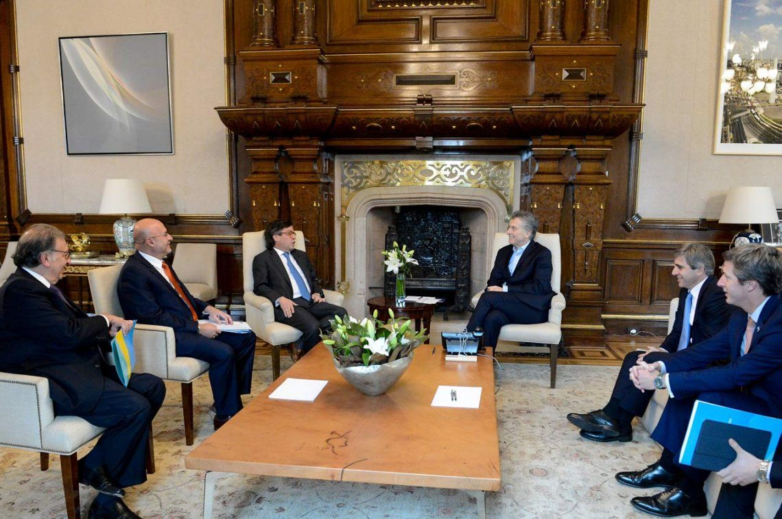 Macri consiguió préstamo de U$S 4.650 millones hasta 2018