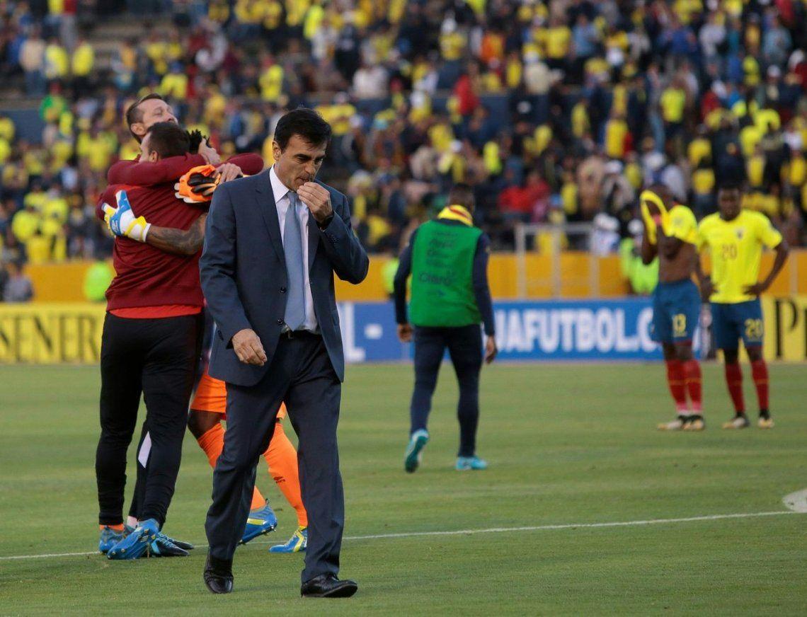 Ecuador se quedó sin técnico: despidieron a Quinteros