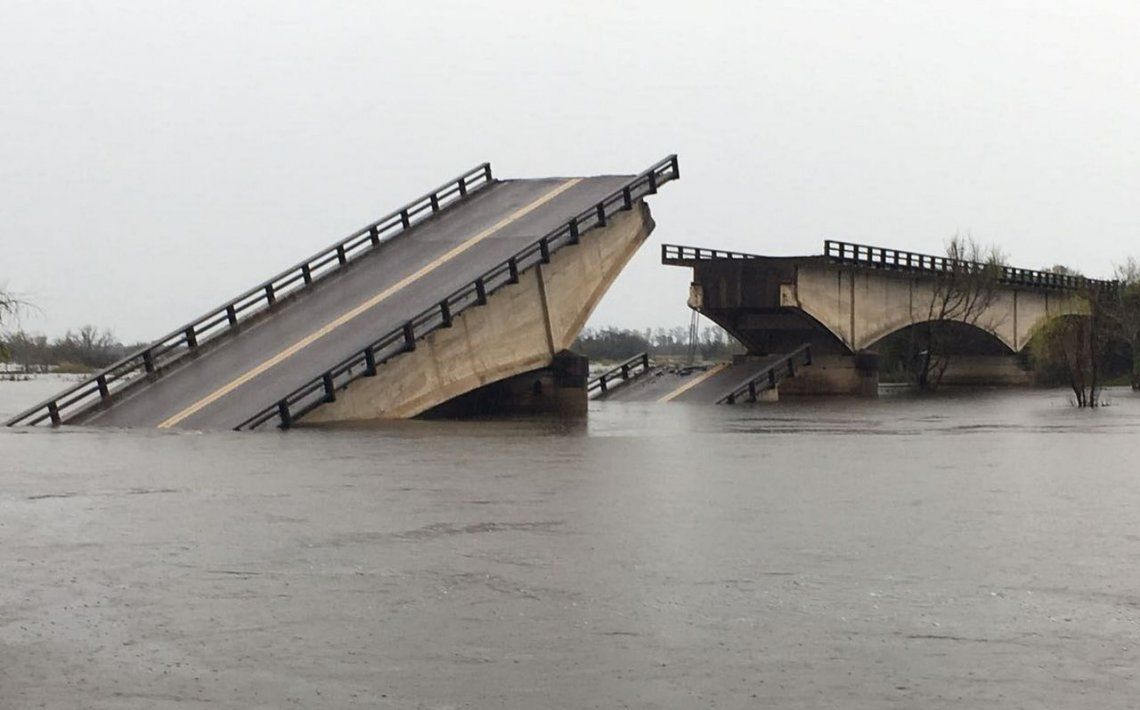 Miles de correntinos están incomunicados hace dos meses por la caída de un puente