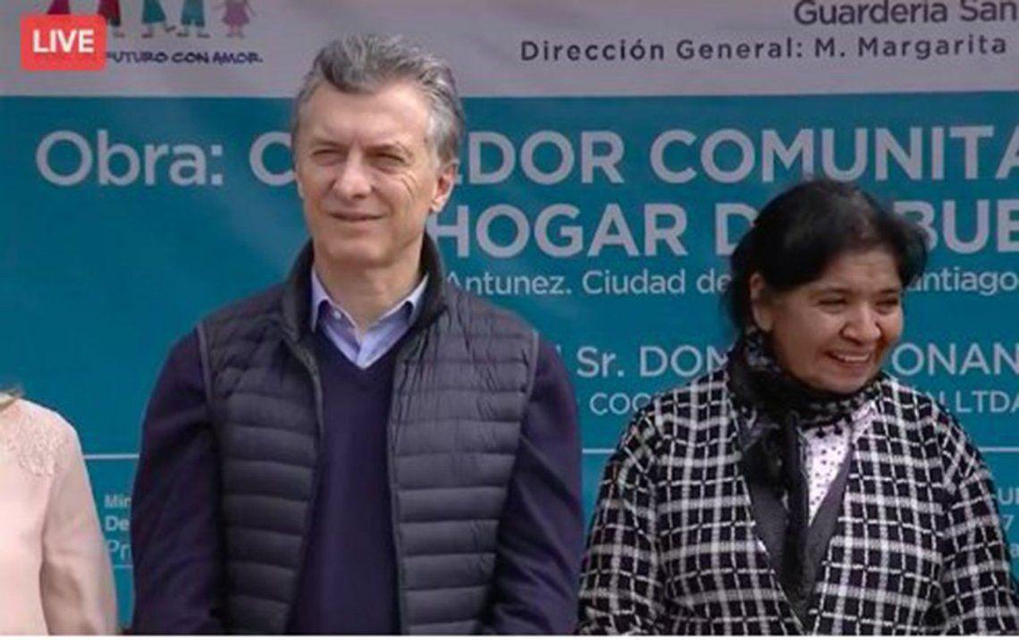 Macri instó a formar un equipo de 40 millones de argentinos para generar trabajo