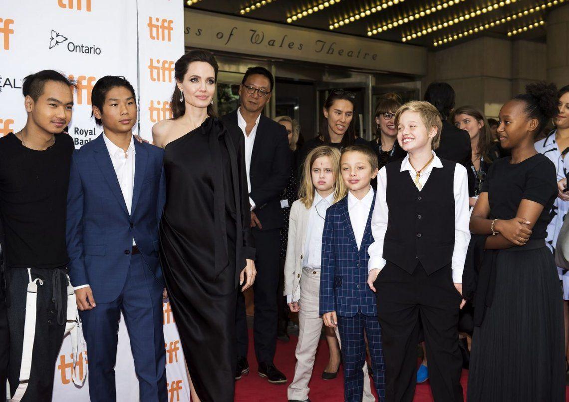 Angelina Jolie habló de su nueva vida luego de la separación de Brad Pitt