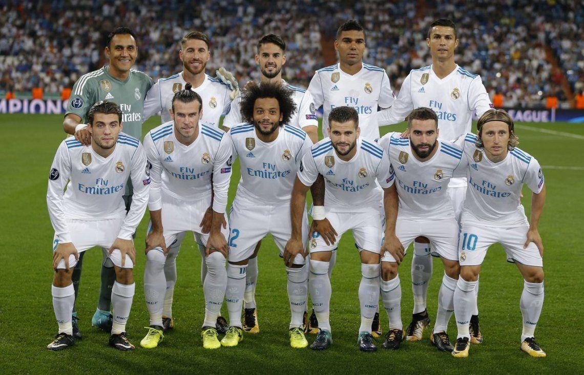 Real Madrid comenzó la defensa del título con una goleada